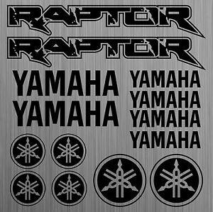 YAMAHA-Raptor-aufkleber-sticker-quad-decal-ATV-14-Stucke-Pieces