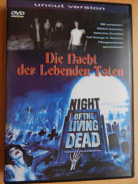 NIGHT OF THE LIVING DEAD - Nacht der lebenden Toten - George A. Romero - Uncut