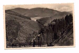 Germany-Elkeringhausen-Helle-und-Orketal-Real-Photo-Postcard-Franked-1934