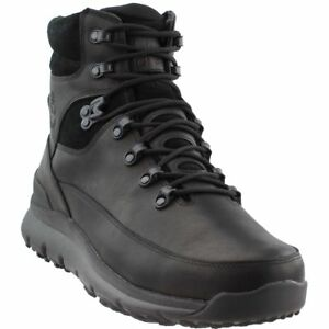 d0ca4002001 Details about Timberland WORLD HIKER Mens Black TB0A1QHO015 Waterproof  Leather Boots