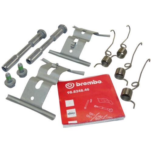 Audi A8 R8 RS4 B7 B8 RS5 genuine Brembo front brake caliper mount kit pins OEM