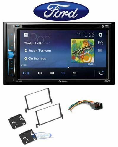 Pioneer AVH-210EX In-Dash Bluetooth Receiver For 1999-2002 Ford Expedition
