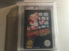 Vga Ukg 85 Nm Super Mario Bros Game Sealed New Pal Version Nintendo  Nes