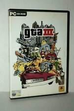 GTA III GRAND THEFT AUTO 3 GIOCO USATO PC CDROM VERSIONE ITALIANA GD1 38578