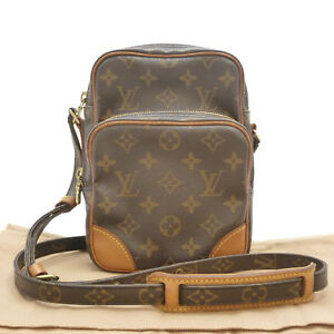 88fd0c24b4e9 Image is loading Authentic-LOUIS-VUITTON-Amazon-Cross-Body-Shoulder-Bag-