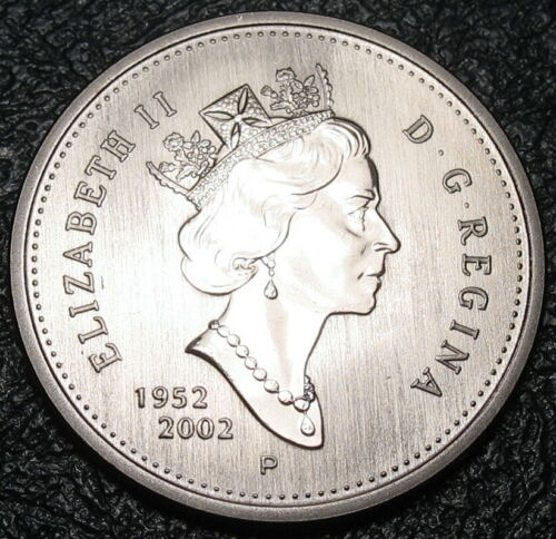 2002-p Uncirculated RCM Caribou 25-cents SPECIMEN