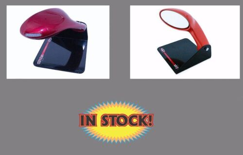 Vision Oval Exterior Mirrors with LED Vision VIS-VF2LD