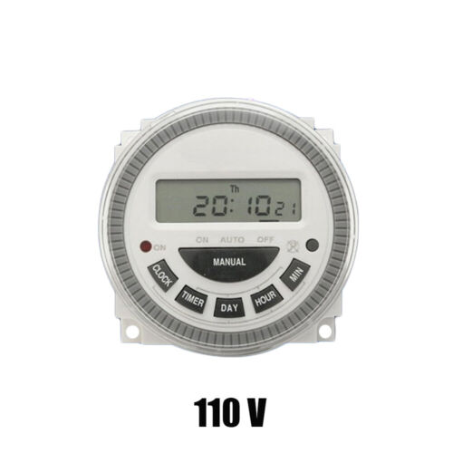 Microcomputer Electronic Power Timing LCD Digital Time Control Timer Switch