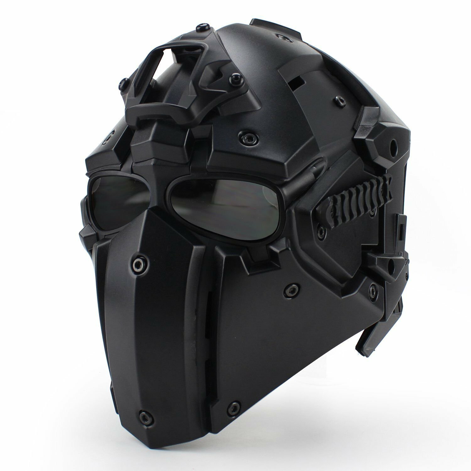 Tactical OBSIDIAN GREEN GOBL TERMINATOR Helmet & Mask for  Paintball Military  top brands sell cheap