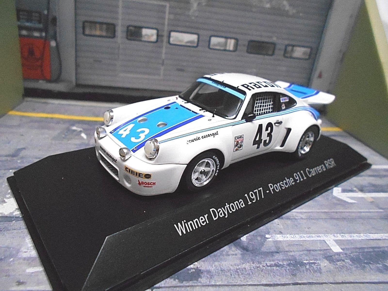 PORSCHE 911 Carrera RSR RSR RSR 3.0 DAYTONA 1977  43 vincitore Gregg Hurley resi SPARK 1 43 97f230