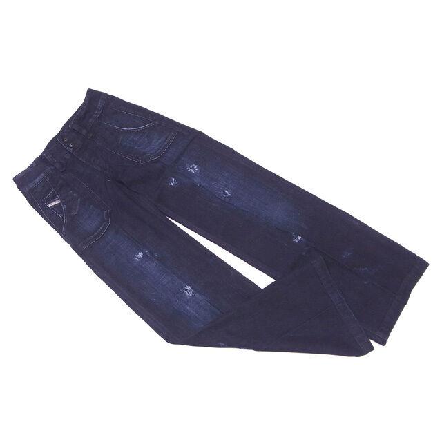Diesel Jeans denim Navy Woman Authentic Used C3006