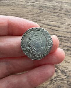 HENRY VIII (1509-1547). SILVER GROAT. YORK MINT. ARCHBISHOP WOLSEY.