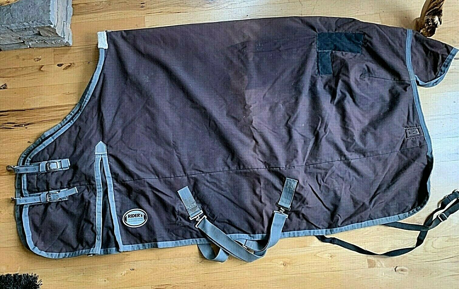 72 Riders Internazionale Dover Waterproof cavallo Blanket Turnout grigio HB95