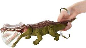 Jurassic World Dino Rivals Primal Attack Massive Biters Sarcosuchus RARE New!!!