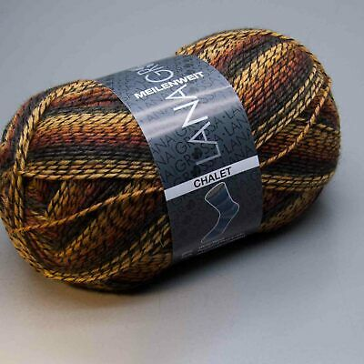 Wolle Kreativ Lana Grossa Fb 5211 100 g Meilenweit 100 Chalet