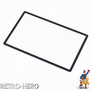 Nintendo-3DS-Display-Scheibe-Screen-Glas-Ersatz-Displayglas-fuer-Oben-Schwarz-NEU