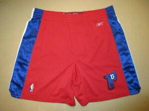 Authentic-Detroit-Pistons-Reebok-Basketball-Shorts-Jersey-36-SEWN