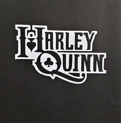 Harley Quinn Vinyl Decal for laptop windows wall car boat b