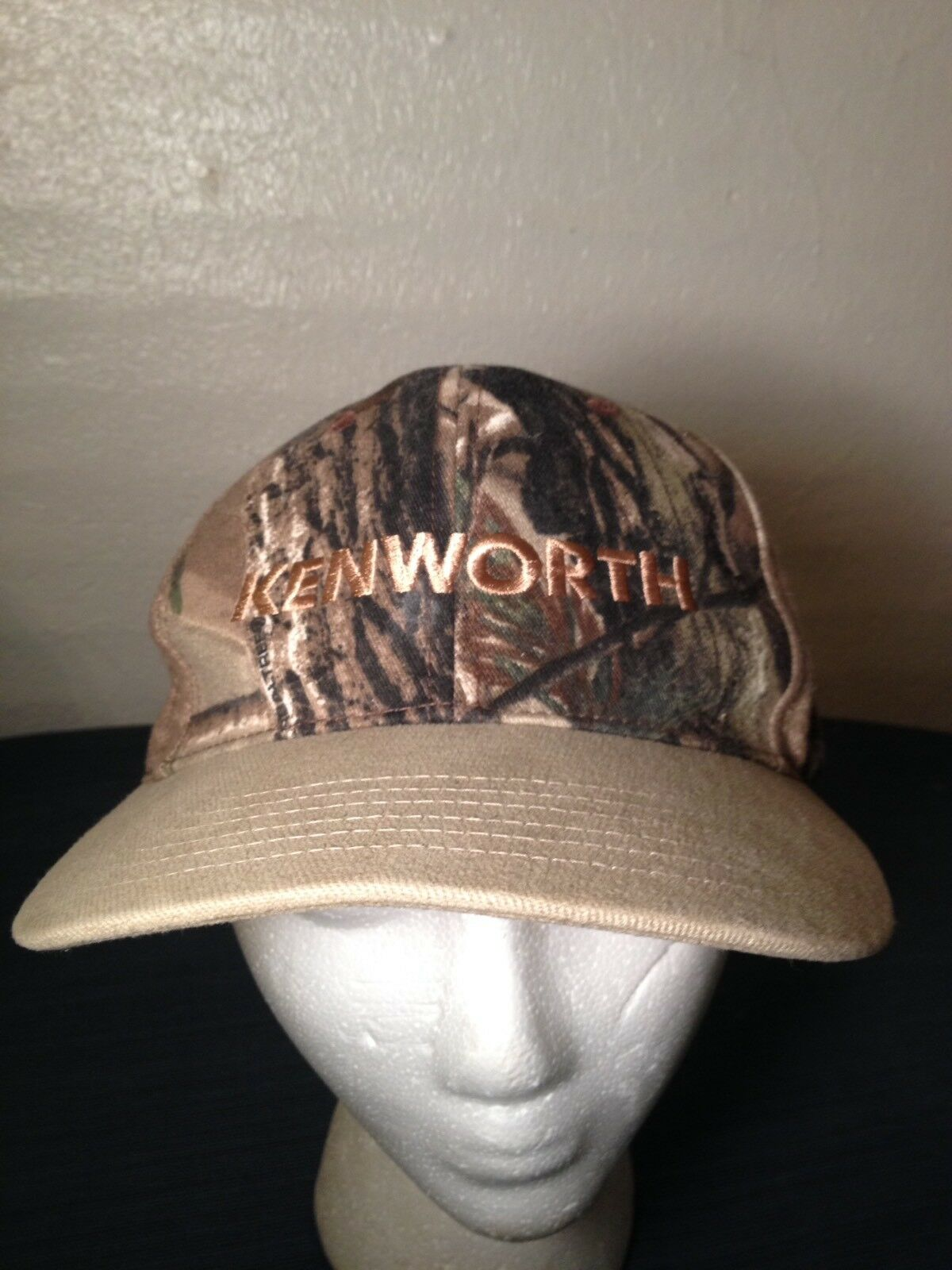 Kenworth Trucking Snapback Ball Trucker Hat Cap Camo Camoflage Hunting Trucker Ball Farmer 877444