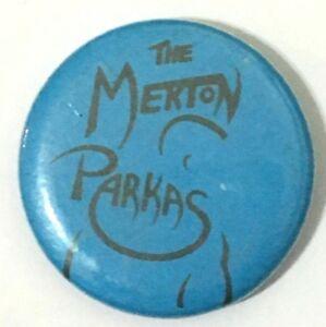 THE-MERTON-PARKAS-Old-OG-Vtg-1980-s-Button-Pin-Badge-MOD-Revival