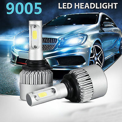 2x 9005 HB3 LED 200W 20000LM Kit de phare pour voiture COB LED Hohe Strahlbirne