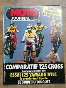 Moto Journal Nº 543 / 11 Février 1982