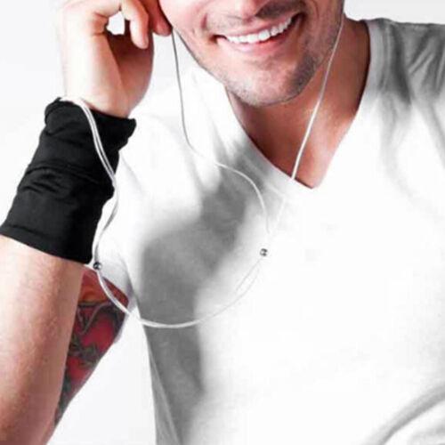 Sports Running Jogging Gym Yoga Wristband Sweatband Wallet Zipper Pocket