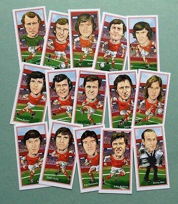 Arsenal 1970-71 doble ganadores Coleccionable Juego De Tarjetas