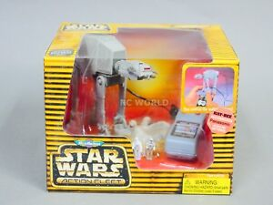 Vintage Star Wars Micro Machines marchant près de la télécommande - nouvelle - #oat
