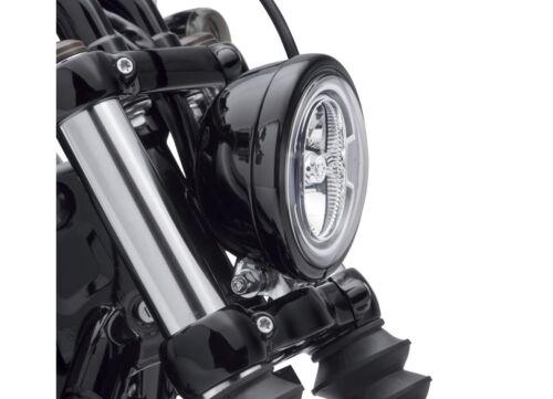Harley Davidson 5 3/4 headlamp trim black Softail Street Bob Low Rider 2018