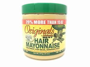 Africa-039-s-Best-Organics-Hair-Mayonnaise-18-oz-Damaged-Hair-Mayo-20-MORE