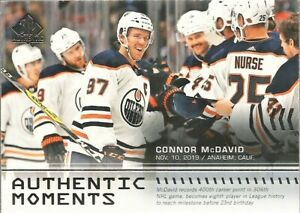 2019-20-SP-Authentic-Connor-McDavid-Authentic-Moments-115-Edmonton-Oilers