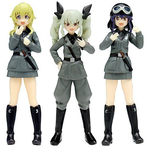 GPF-16 Girls und Panzer The Movie 1/35 Scale Kit Anzio high school Set Macaroni