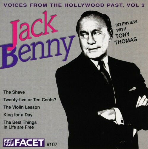 Jack Benny - Interviewed By Tony Thomas [New CD]