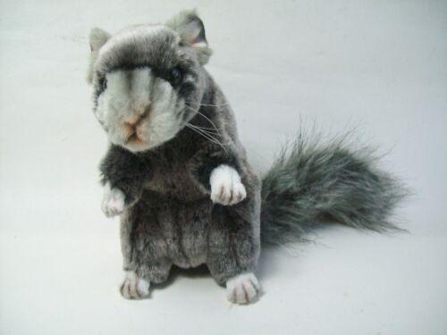 1 Chinchilla 5490 Hansa Toy Eichhörnchen 18 Plüschtier Stofftier Stofftiere