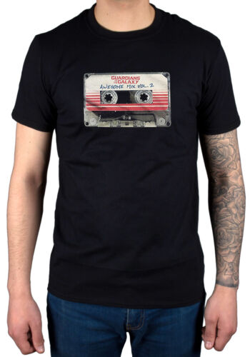Official Guardians Of The Galaxy Vol 2 Awesome Mix 2017 T-Shirt Starlord Marvel