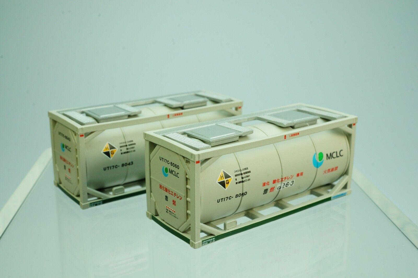 Popondetta 8518 20ft recipiente mclc 2 piezas (escala N)     nuevo