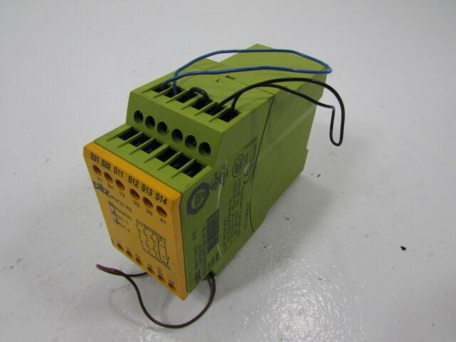 PILZ PNOZ X3 774310 OUTPUT MODULE 24VAC 24VDC