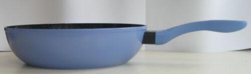 28 cm Alu geschmiedet Keramikbeschichtung Pfanne Farbwechsel von Blau zu Weiß