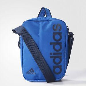 dbbcd6efbfd4 Das Bild wird geladen adidas-Herren-Damen-Tasche-Schultertasche -Linear-Performance-Organizer-