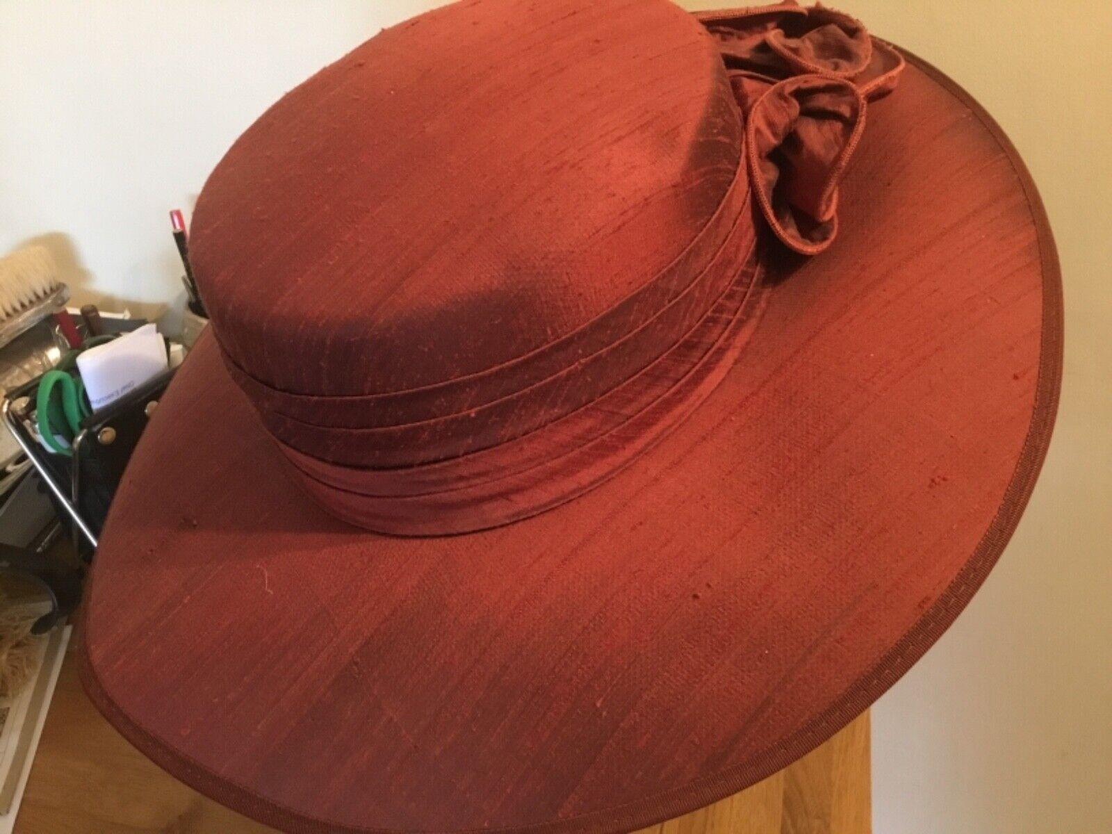 HEADWAYS by Albert Rust Slub Silk Special Occasion Hat