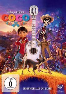 Disney-Coco-Lebendiger-als-das-Leben-DVD-NEU-amp-OVP-Film-2018