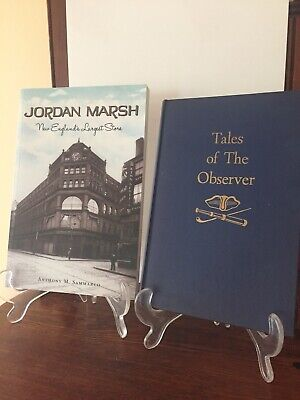 Collectibles Rational Jordan Marsh Historic Books Advertising-print New And Used