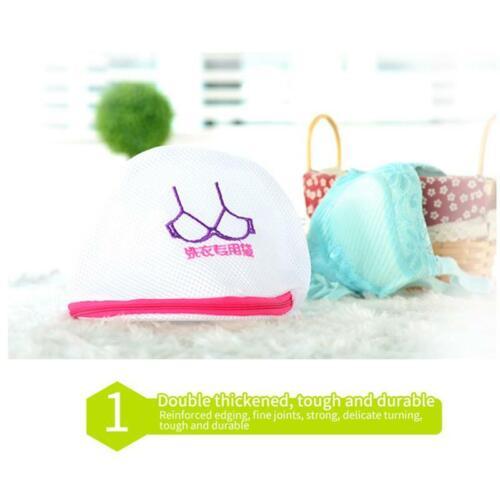 3Pcs Zippered Net Fine Mesh Wash Bag Laundry Washing Socks Bra Lingerie Clothes