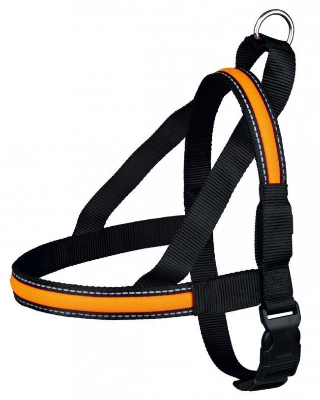Trixie USB Cavo Flash Piatto Tipico Norvegese, black Arancione,