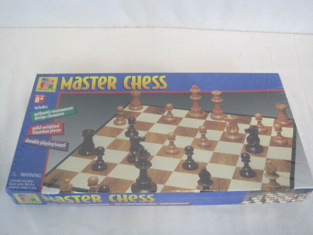 Master Chess Educational Learning System System System Weighted Stauton Pieces (OAY32-302) 635622