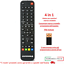 miniatura 3 - Telecomando Universale per ZEPHIR Compatibile per Tv Decoder Ricevitori Dvd