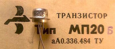 20x MP20B Transistoren Germanium UdSSR Legierung PNP-Schaltung