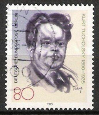 Deutschland Briefmarken VertrauenswüRdig Berlin Nr.748 Kurt Tucholsky 1985 Gestempelt