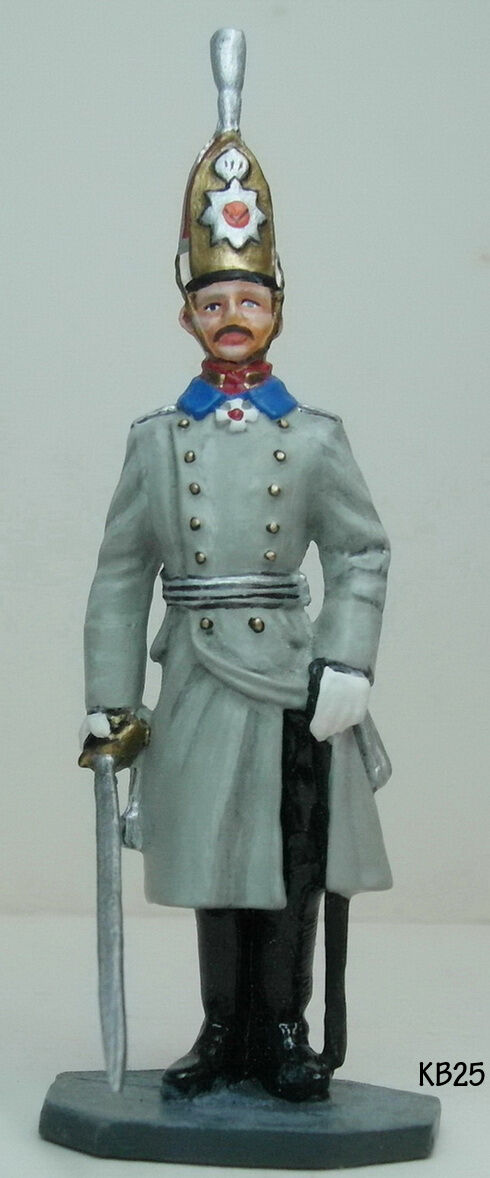 Metal Toy Soldier Prussian Kaiser Wilhelm II Birthday Review in Berlin 1913 KB25